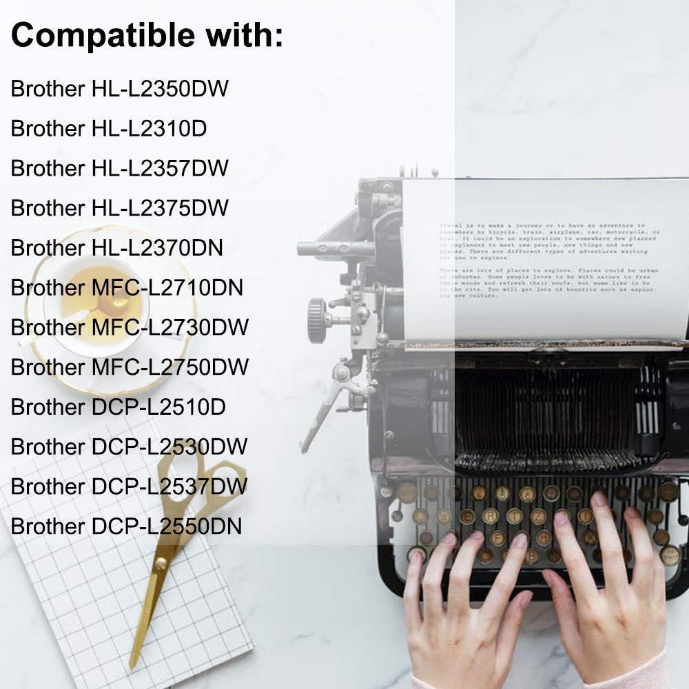 AQINK TN2420 - Cartucho de tóner Compatible con Brother, Color ...