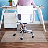 Elegear Heavy Duty Hard Floor Chair Mat, Home Office Non-Breakable Clear Floor Mat, Laminate and Tile Floor Protector…