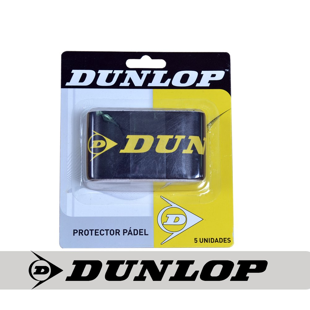 Blister 5 protectores Dunlop color negro y amarillo: Amazon ...