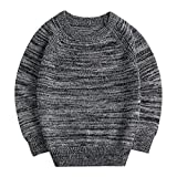 #9: Sooxiwood Little Boys Sweater Thin O-Neck Spring Autumn