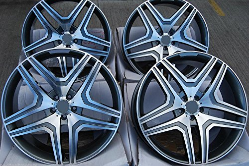 "20"" Wheels For Mercedes R350 ML350 500 GL450 550 Set of Four Rims"