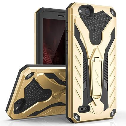 Phonelicious Phone Cover for ZTE Zfive GC/Zte Tempo Go/Zte Avid 557 / ZTE  Z557BL / Z558VL / Blade Vantage Case Slim Fit Defender Protective with