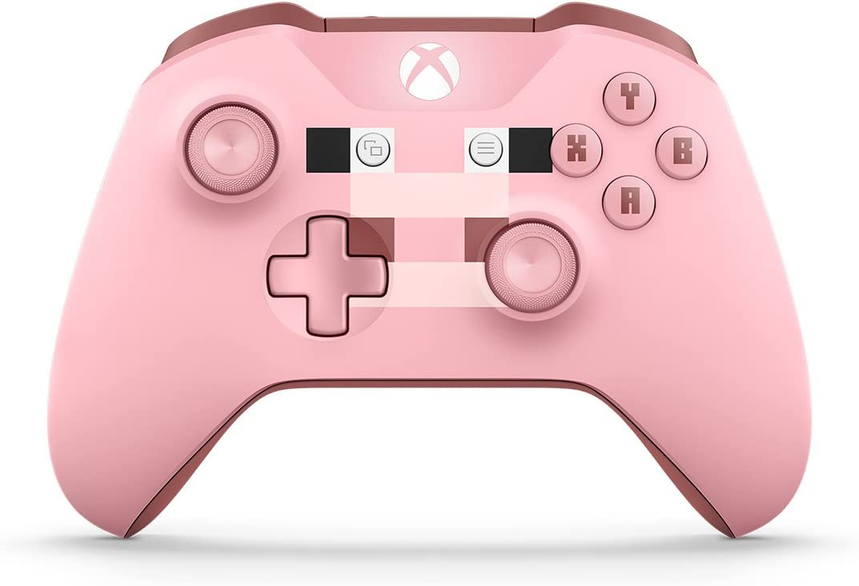 Amazon Com Xbox Wireless Controller Minecraft Pig Xbox One