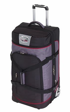 Bolsas de viaje trolley Set 3 partes con 2 ruedas y expandible Protector de bordes Mango hueco en el suelo y volumen Sistema de cinturón: Amazon.es: ...