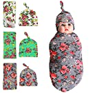Swaddle Sack, Swaddle, Cocoon, Sleep Sack, Swaddle, Newborn, Blanket, Headband by Quest Sweet(set of 3)