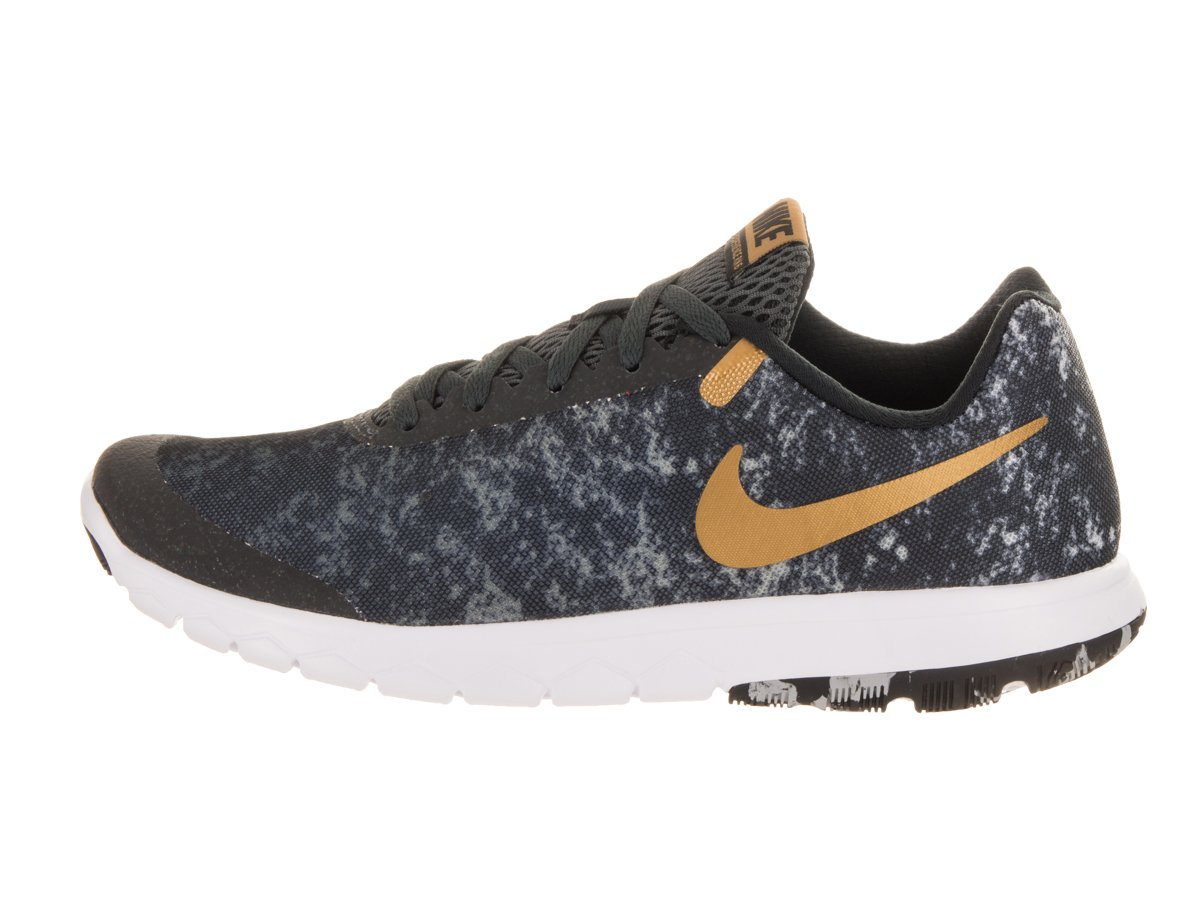 NIKE Women's Flex Experience RN 6 Running Shoe B005OB20EO 8 B(M) US|Black/Metallic Gold/Anthracite