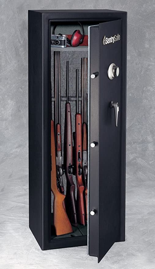 Amazon com: 14 Gun Safe with Combination Lock By Sentry Safe