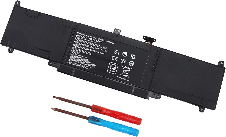 C31N1339 Battery for Asus ZenBook UX303UB UX303LN Q302L Q302LA Q302LG UX303 UX303L UX303LA UX303LN UX303LB UX303LNB UX303UA Q302LA-BHI3T09 0B200-00930000 50WH