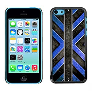- BLACK ART INTERIOR WALL BLUE STRUCTURE DESIGN - - Monedero pared Design Premium cuero del tir???¡¯???€????€?????n magn???&r