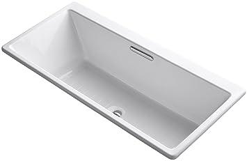 Charming Kohler K 892 0 Rêve Bath, White