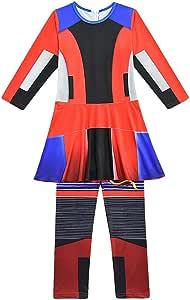 QYS Party City Evie Disfraz de Halloween para niñas, Descendientes ...