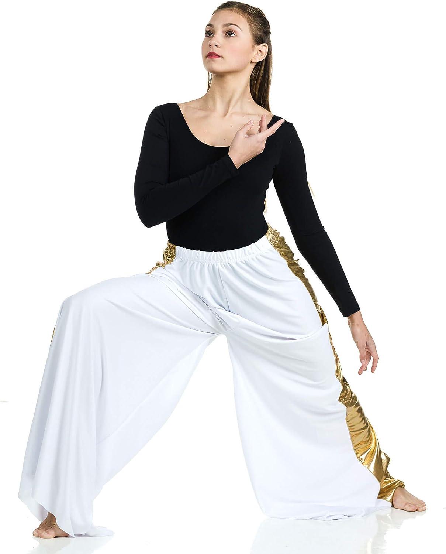 Danzcue Praise Dance Two-Tone Palazzo Pants