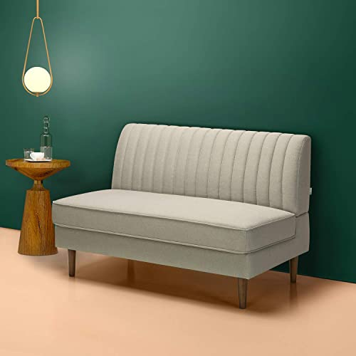Zinus Jocelyn Contemporary Loveseat Sofa / Settee / Armless Design / Easy