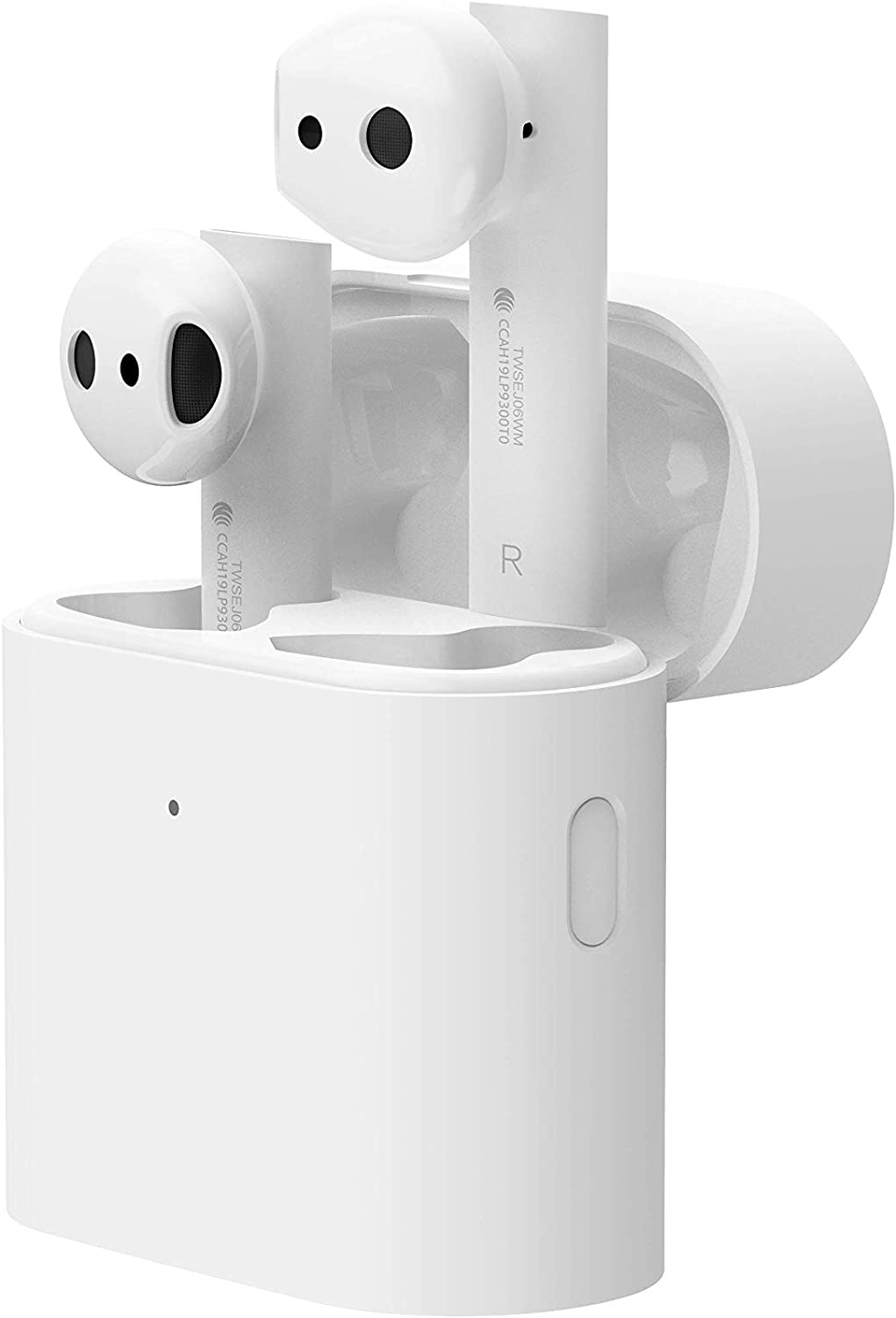 Xiaomi Mi True Wireless Earphones 2, Auriculares inalámbricos sin Cables, conexión Bluetooth 5.0, Control Doble Tap, Audio Codec SBC, AAC, LHDC, Compatible con Dispositivos iOS y Android