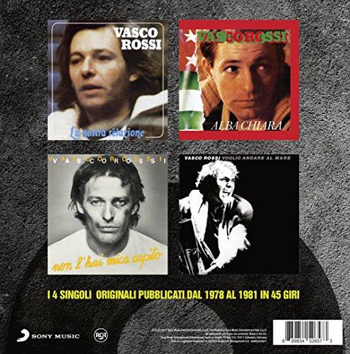 Vinilo : Vasco Rossi - I Singoli Dal 1978 Al 1981: Box (Italy - Import)