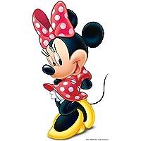 Star Cutouts Ltd SC1621 Minnie Disney - Recorte de cartón para fans y fiestas de Mniie Mouse Altura 88 cm, multicolor