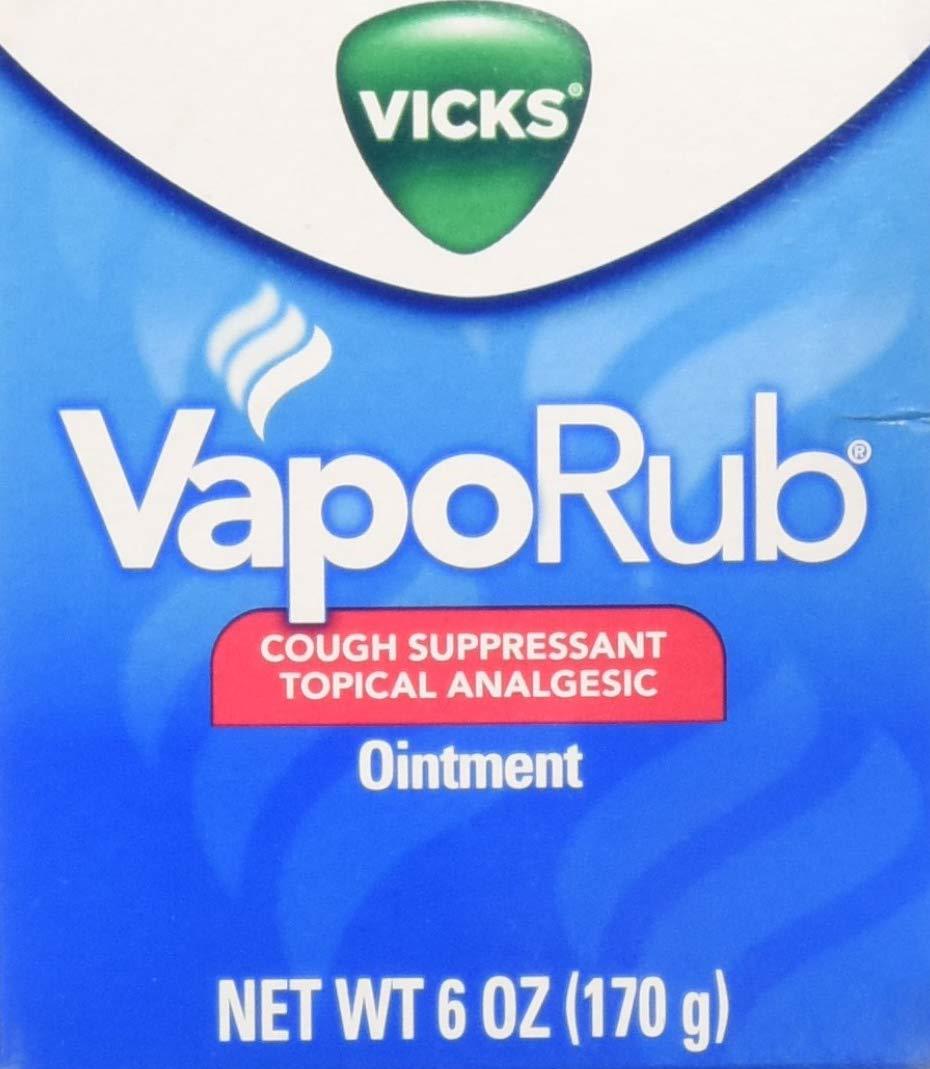 Vicks VapoRub Ointment, 6 Ounce by Vicks