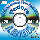 Fedora 20 Linux DVD 64-bit Full Installation Includes Complimentary UNIX Academy Evaluation Exam