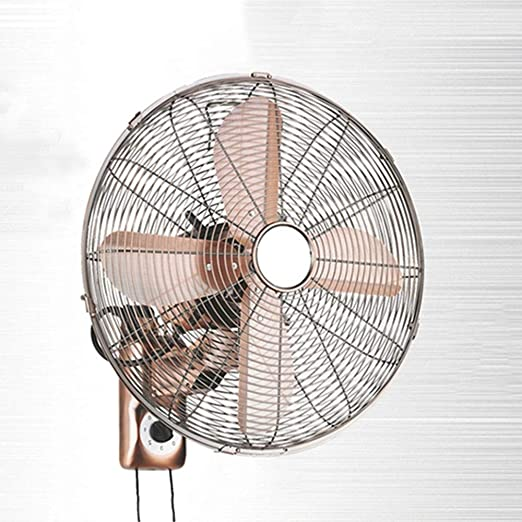 HRD Ventilador de Pared Retro Europeo, Ventilador de Metal ...