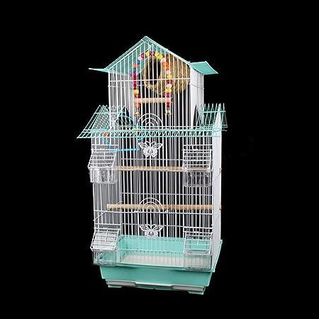 Mascota de la jaula, el nido del Birdcage con el pájaro, Escalera, El columpio Birdhouse de