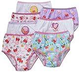 Peppa Pig Little Girls Panties 7 Pairs Underwear Briefs 4T