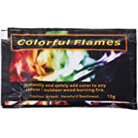JAGETRADE Mystical Fire Powder Magic Trick Colorato Fiamme Bonfire Fireplace Pit Patio Toy