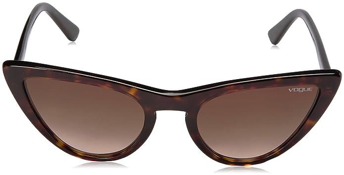 Amazon.com: Vogue Acetate - Gafas de sol para mujer, Marrón ...