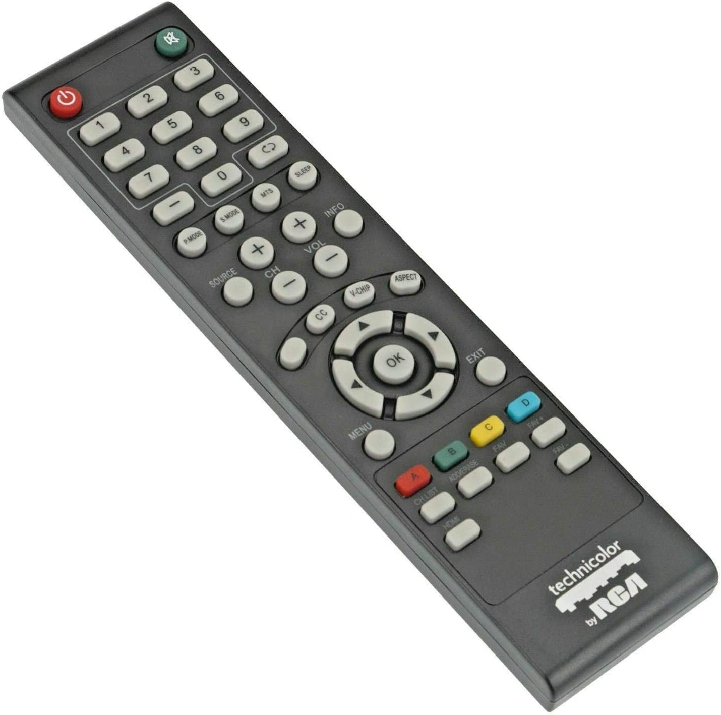 RCA RTU6549-C Remote