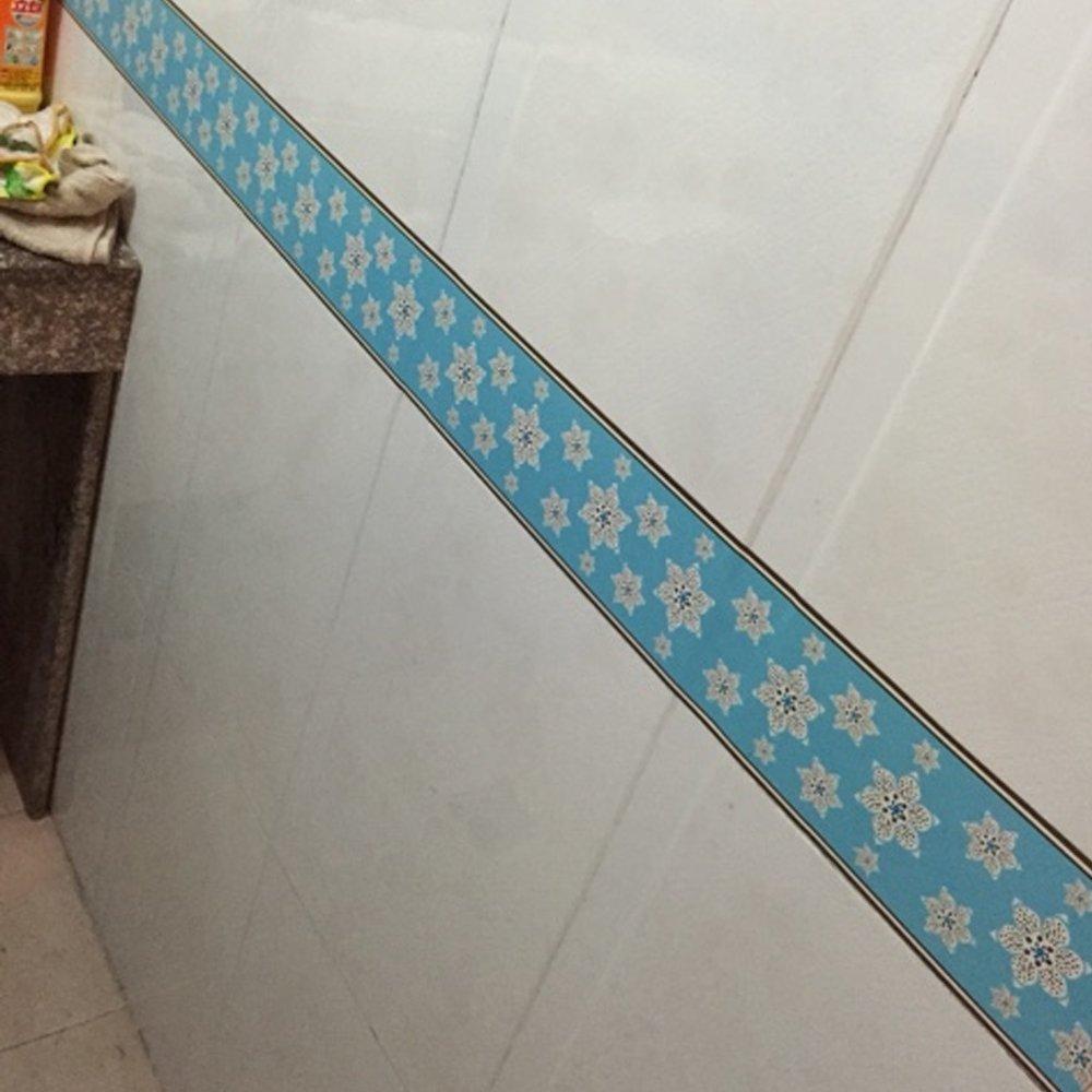 SimpleLife4U Self Adhesive Wallpaper Border Removable Wall Borders ...