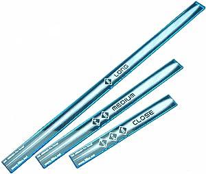 LITKO SW: Armada Multi Range Gauge Set, Fluorescent Blue (3)
