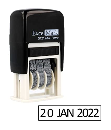 ExcelMark Self Inking Date Stamp