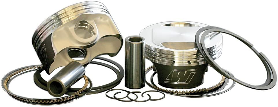 Wiseco K1675 3.503 Bore 10:1 Compression Ratio Domed Forged Piston Kit