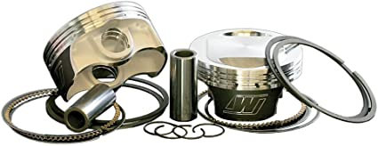 Wiseco 3.875 Bore 10.5:1 Compression Ratio Domed Forged Piston Kit with Top End Gasket VT2709