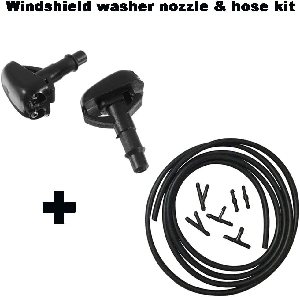 Universal Car Front Windshield Wiper Washer Sprayer Replacement Nozzle Y