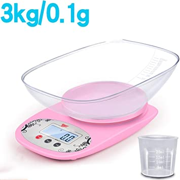 Kitchen Scale Electronic Scales Called 0.01g Precision Mini Jewelry Scale Household Weighing Baking Food Grams Said Small Scale, 6: Amazon.es: Hogar