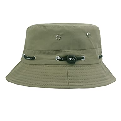 06200e9a33a Profusion Circle Unisex Bucket Hat Canvas Outdoor Travel Fisherman Fishing  Hat Women Men Sunhat  Amazon.co.uk  Clothing