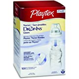 Playtex Bottle Liners Drop-Ins, 4 Ounce, 100-Count