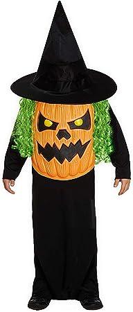 HENBRANDT Niños Halloween Jumbo Calabaza Disfraz Grande 10 ...