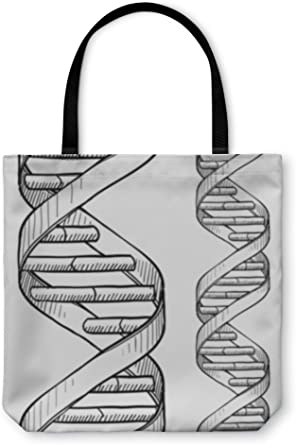 820422GN Gear New Shoulder Tote Hand Bag Dna Double Helix Pattern