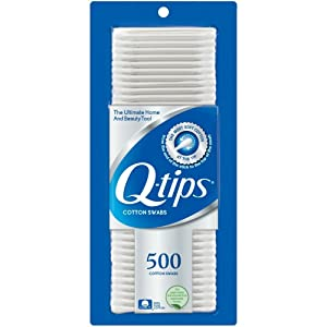 Q-tips Cotton Swabs, 500 ct (pack of 4)