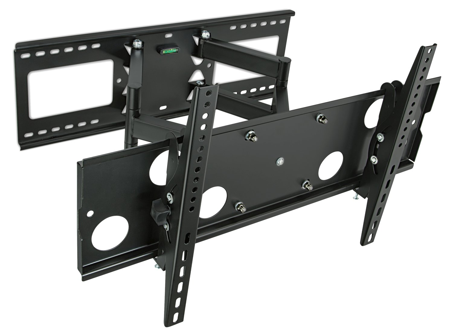 Mount It Full Motion Tv Wall Mount For 16 18 24 Wood Studs Fits 32 65 Lcd Led Plasma Flat Screen Curved Tvs Up To 165 Lbs Includes Hdmi