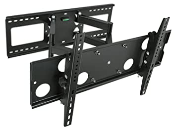 Amazoncom Mount It Full Motion Tv Wall Mount For 16 18 24