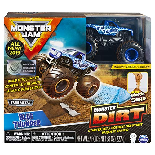 Monster Jam Blue Thunder Monster Dirt Starter Set, Featuring 8 Ounces of Monster Dirt & Truck for $<!--$9.99-->