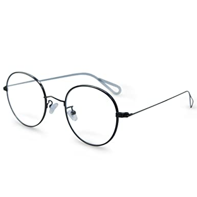 Amazon.com: In Style Eyes RX-Able Round Reading Glasses with ...