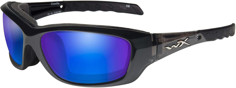 Wiley X WX Gravity Black Ops CCGRA01 Sunglasses M-L Matte Black