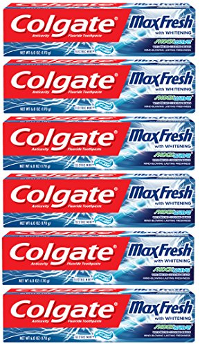 ockwave Toothpaste with Cooling Beads, Mint - 6 ounce (6 pack) ()