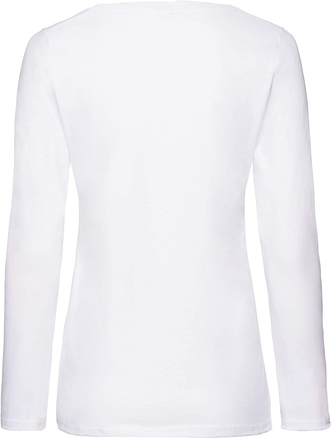 Fruit of the Loom Long-Sleeve T-Shirt in and Sizes White - White