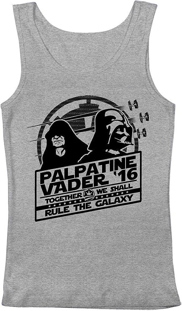 GEEK TEEZ Star Wars Palpatine Vader 2016 Mens Tank Top