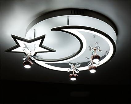 DELLT- Led-deckenleuchte Kinderzimmer Beleuchtung Einfache Moderne ...