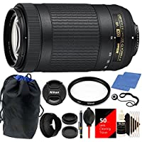 Nikon 70-300mm VR AFP f/4.5-6.3 DX ED Lens with Deluxe Accessory Kit